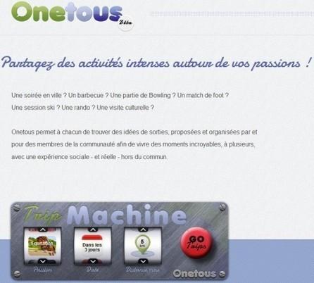 Un réseau social de proximité, Onetous | Ballajack | 694028 | Scoop.it
