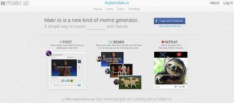 Makr, generador de Memes vía @GeeksRoom | Pedalogica: educación y TIC | Scoop.it