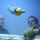A robot turtle will help underwater archaeologists to inspect shipwrecks | AncientHistory@CHHS 2012-13 | Scoop.it