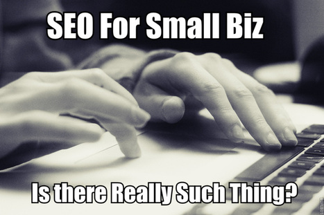 Is There Really Such Thing as SEO for Small Business?   MarketingHits   Scoop.it