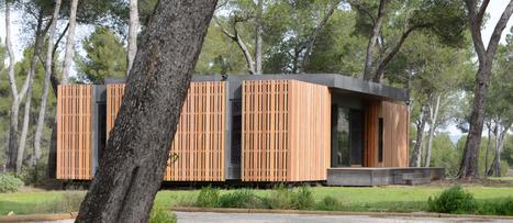 Pop Up : 4 jours, c'est ce qu'il faut pour monter cette maison passive ! | Déco & tendances contemporaines | Scoop.it