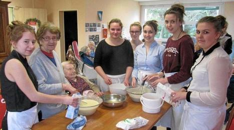 Les lycéennes ont préparé un repas breton   Le lycée agricole de Caulnes   Scoop.it