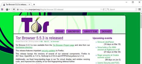 L'État conseille aux entreprises de bloquer Tor - Tech - Numerama   L'actualité informatique en vrac   Scoop.it