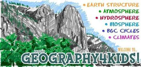 GEOGRAPHY 4 KIDS.COM - Earth Science Basics for Everyone! | Homework Helpers | Scoop.it