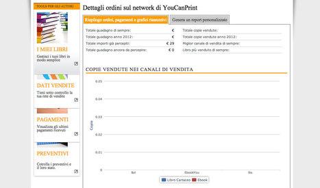 Youcanprint 3.0: un'anteprima sul sistema di monitoraggio   Come Pubblicare un Libro   Scoop.it