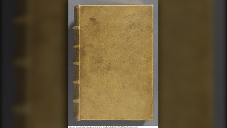 Showing skin: Harvard library book covered with human flesh - WFSB | library studies | Scoop.it