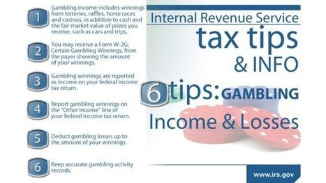 The American Gaming Association Handles IRS Proposal to Lower Taxable Jackpot Winnings Threshold From $1200 to $600 | Online Casinos USA & Real Money Games | Scoop.it