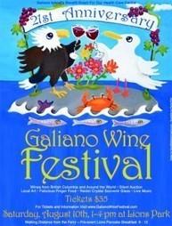 Wine Festival August 10, 2013   Galiano Health Care Society   Galiano Island Books   Scoop.it