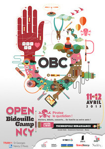 Nancy accueille la première Open Bidouille Camp : Numérique, Impression 3D, Graff Digital... | FabLab - DIY - 3D printing- Maker | Scoop.it