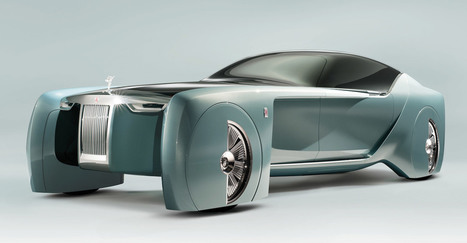 Rolls-Royce 103EX: Software-Chauffeur und virtueller roter Teppich - Engadget Deutschland | weekly innovations | Scoop.it
