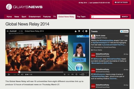 Global News Relay, une initiative journalistique novatrice | DocPresseESJ | Scoop.it