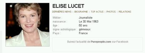 30 mai 1963 : Très bon annivesaire à Elise Lucet !!! | Que s'est il passé en 1963 ? | Scoop.it
