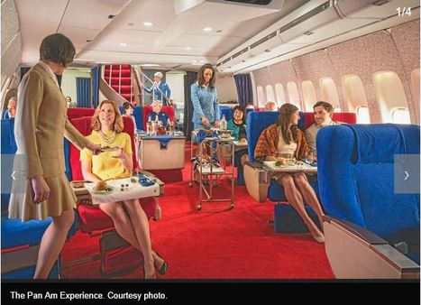 Relive 'The Pan Am Experience' by dining in a 1970s-era replica 747   All things Seventies   Scoop.it
