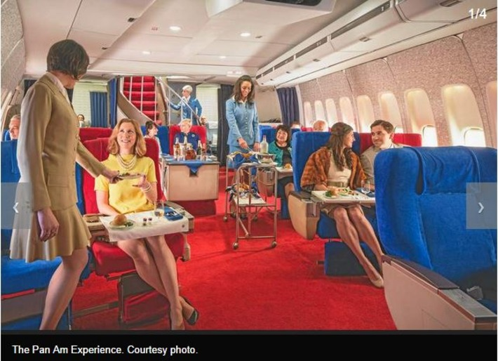 Relive 'The Pan Am Experience' by dining in a 1970s-era replica 747 | Kitsch | Scoop.it