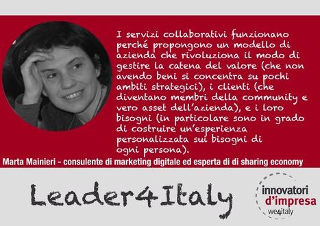 La via italiana alla sharing economy di Marta Mainieri | ecohousing | Scoop.it