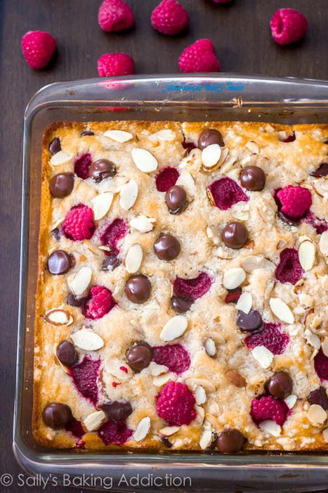 Raspberry Chocolate Coffee Cake. - Sallys Baking Addiction | Intentando cocinar | Scoop.it