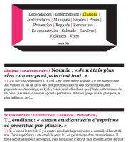 Prostitution : les témoignages qui disent la réalité de la prostitution, sansstrass(1)   abolition   Scoop.it