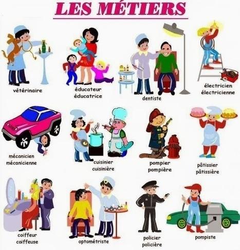 Français langue étrangère: PROFESSIONS ET MÉTIERS | teach | Scoop.it