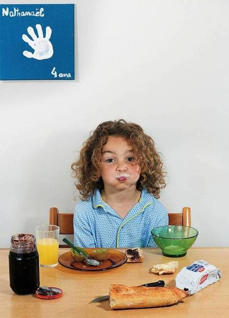 These Photos Reveal What Kids Around The World Eat For Breakfast. | Strange days indeed... | Scoop.it