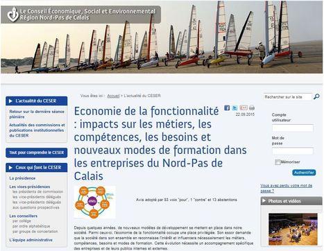 Economie de la fonctionnalité : impacts sur les métiers, les compétences, les besoins et nouveaux modes de formation dans les entreprises du Nord-Pas de Calais | Economie de la fonctionnalité et de la coopération | Scoop.it