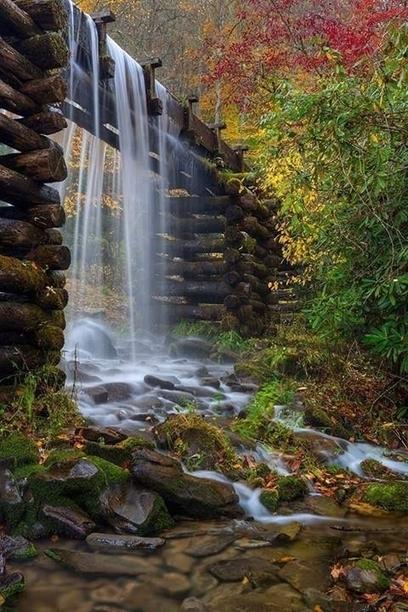 The Mingus Mill, Blue Ridge Mountains, North Carolina | My Photo | Scoop.it