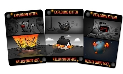 Exploding Kittens card game raises $8.8m on Kickstarter | Tracking Transmedia | Scoop.it