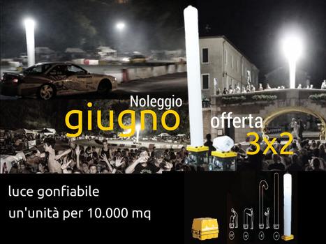 AtsBOX by Centro Edile Trieste - torre di luce gonfiabile a noleggio OFFERTA GIUGNO | Prefabbricati | Scoop.it