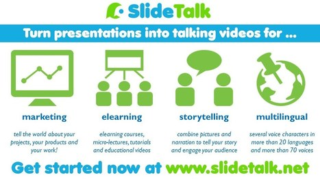 SlideTalk Video: SlideTalk 90-seconds introduction 2016   SlideTalk's eLearning Watch   Scoop.it