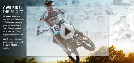2013 Yamaha YZ250, keeping the two stroke alive | Western Mass motocross | Scoop.it