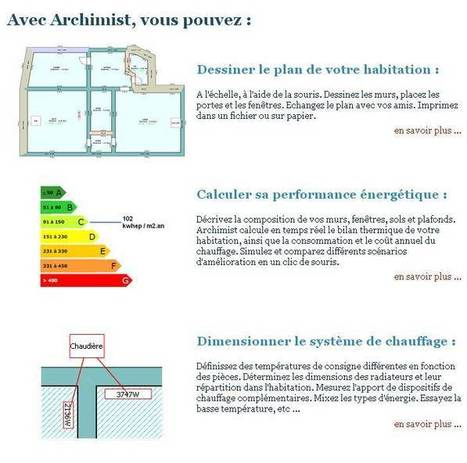 Tice Education : Archimist : Simuler le bilan thermique d'une habitation | E-apprentissage | Scoop.it