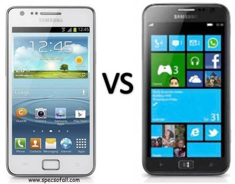 Samsung Galaxy S II Plus vs Samsung Ativ S Comparison | Specifications of Smartphones | Scoop.it
