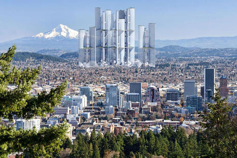 A Vision Of The Vertical Cities Of The Future  - more than skyscrapers, a complete ecosystem you never have to leave | Fast Company | The Programmable City | Scoop.it