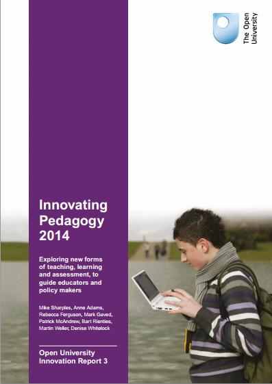 2014 Innovating Pedagogy Report | The Open University | APRENDIZAJE | Scoop.it