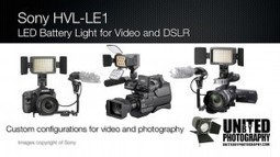 Sony HVL-LE1 DSLR and Video Camera LED Light | DSLR video and Photography | Scoop.it