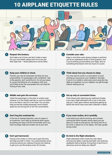 How To Not Be An Idiot On Your Next Flight | Edu's stuff | Scoop.it