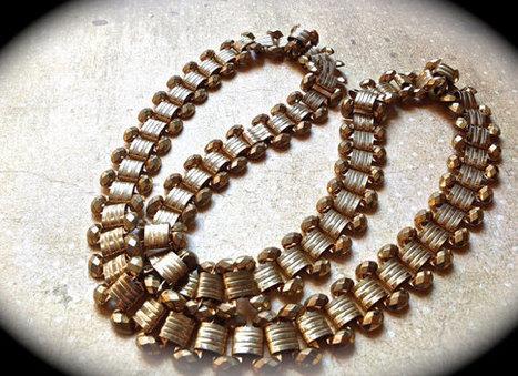 Vintage chain necklace   Vintage Jewelry   Scoop.it