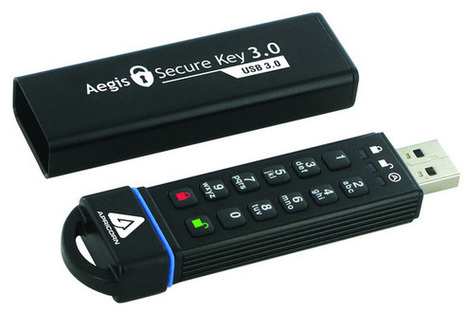 Portable storage for the paranoid: We test two secure USB drives on keypad vs. software security | Articles to read | Scoop.it