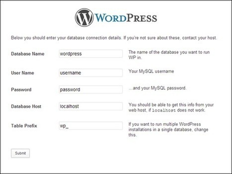How To Install WordPress On A WAMP Server – Step By Step Guide | feed2need.com | Scoop.it