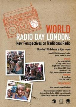 World Radio Day, London: New Perspectives on Traditional Radio | SOAS Radio | Radio 2.0 (En & Fr) | Scoop.it