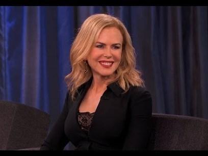 Nicole Kidman on Jimmy Kimmel Live PART 1   Money   Scoop.it