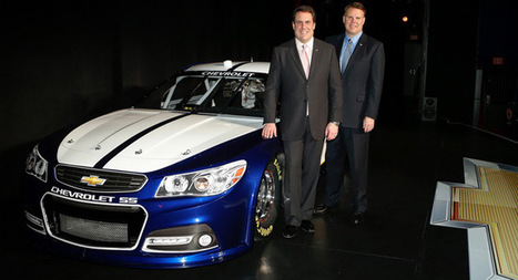 2013 Chevrolet SS NASCAR Revealed | Auto Guide India | Scoop.it
