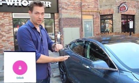 You Can Now Command The Tesla You Probably Don't Have With The Smartwatch You Probably Don't Have | TechCrunch | Auto Shop Marketing Help Summer 2015 | Scoop.it