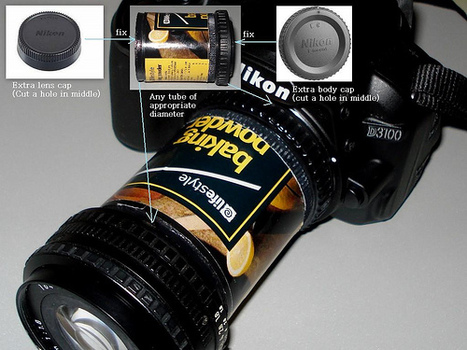Using Baking Powder As A Macro Tube | Photography Gear News | Scoop.it