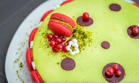 Délice pistache / griotte - Sucre d'Orge et Pain d'Epices | Passion for Cooking | Scoop.it