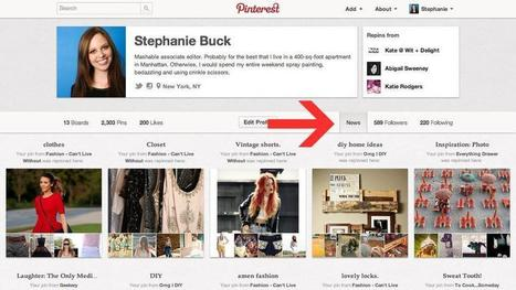 Pinterest Introduces 'News' Feature to Improve Content Discovery | Social Media Butterfly | Scoop.it
