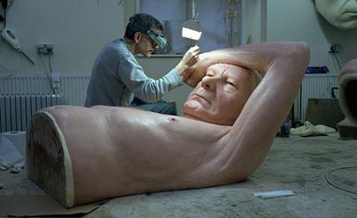 Sculptor Ron Mueck's solo exhibition at Fondation Cartier, Paris - wallpaper.com | Cartier | Scoop.it