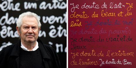 L'art selon Ben au musée Maillol | Art contemporain et culture | Scoop.it