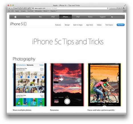 New iPhone Basics section on Apple.com offers quick iOS 7 tips | iPhoneography-Today | Scoop.it