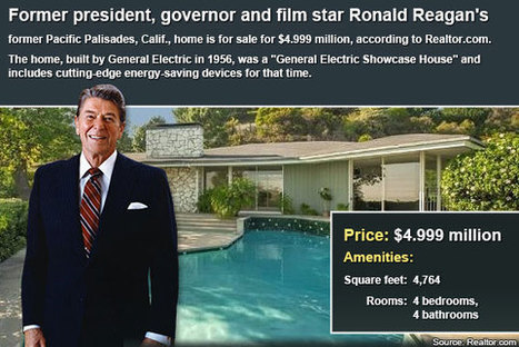 Celebrity House For Sale: Ronald Reagan   Bankrate.com   Real Estate - Homes By Cindy Blanchard   Scoop.it