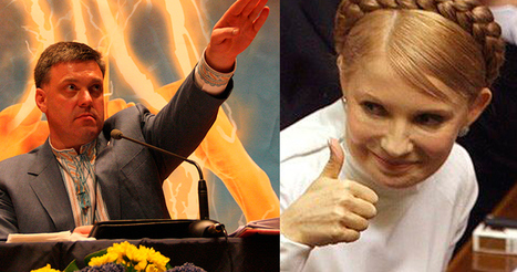 Une possible alliance entre Timoschenko et Svoboda ? | Timoshenko et Svoboda | Scoop.it